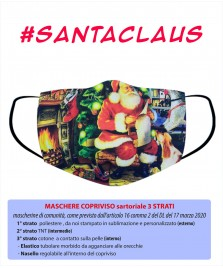 Santa Claus Maschera Copriviso