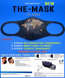 THE MASK TESSUTO BATTERIOSTATICO