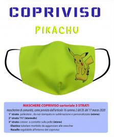 pikachu copriviso