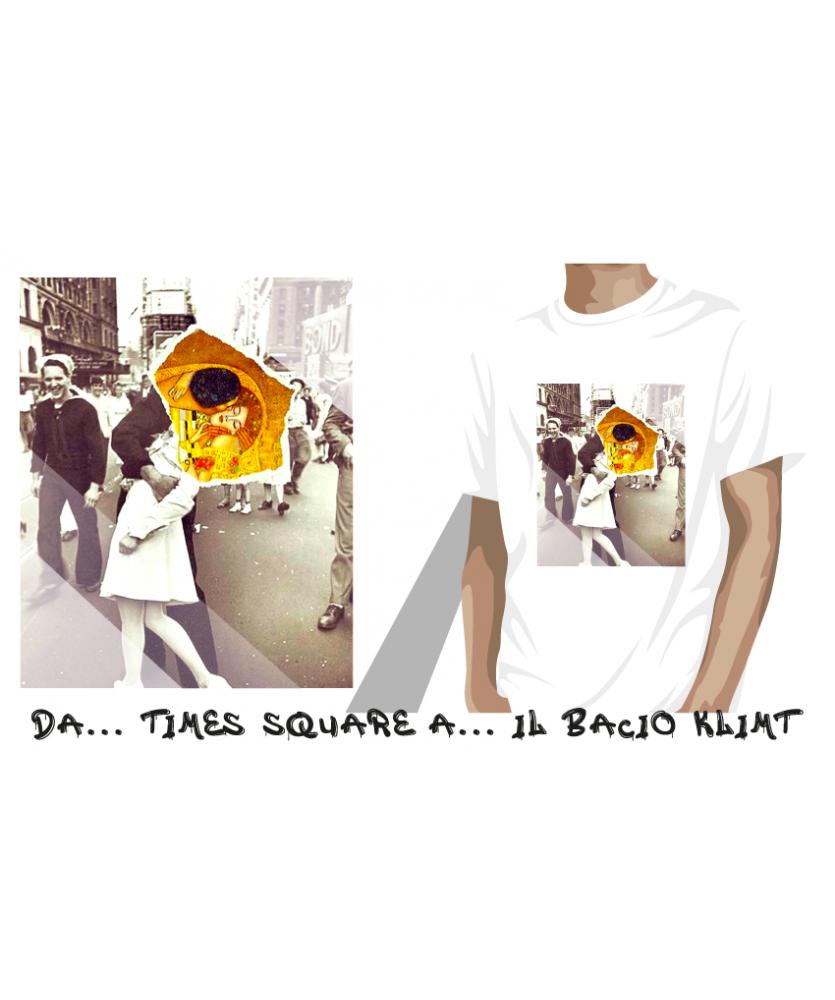 da... Times Square a... Il bacio Klimt