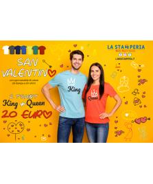 San Valentino ( King + Queen)
